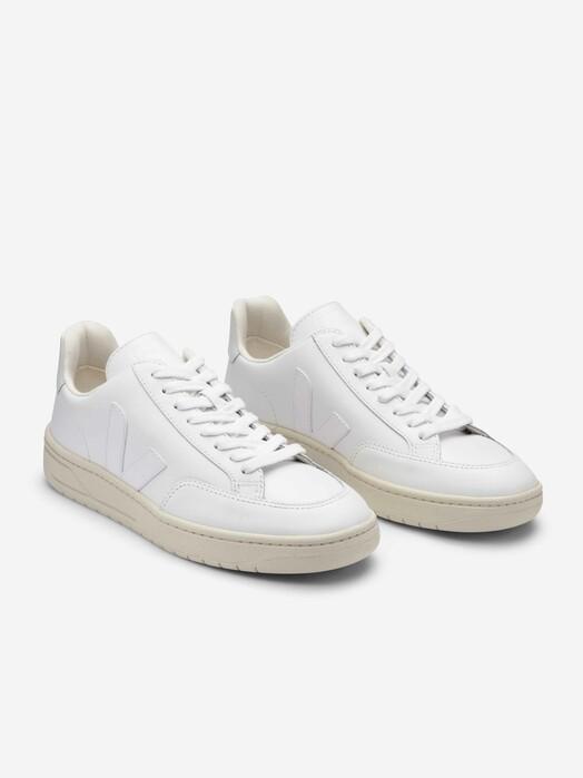 Veja Schuhe V-12 Leather [extra-white] jetzt im Onlineshop von zündstoff bestellen
