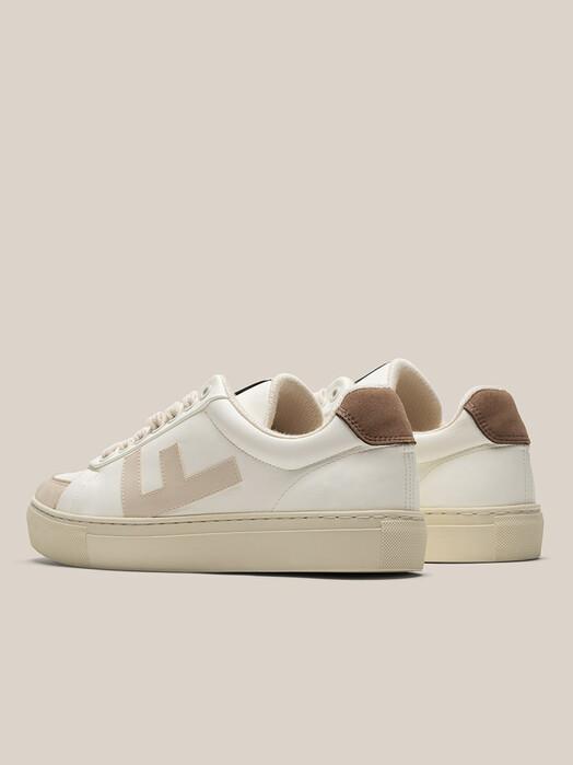 Flamingo's Life Schuhe Classic 70's Kicks [white/brown/grey] jetzt im Onlineshop von zündstoff bestellen
