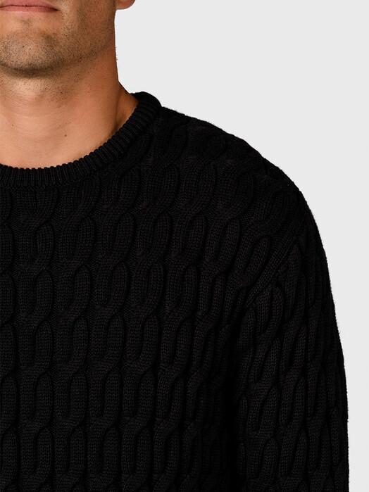 Klitmøller Collective Strickpullover Anker [black] jetzt im Onlineshop von zündstoff bestellen