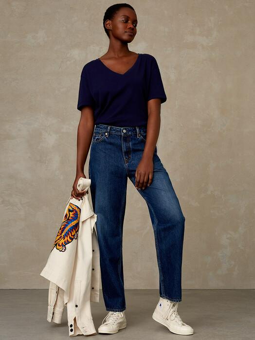 K.O.I. Jeans Jeans Indira [blue worn refibra] jetzt im Onlineshop von zündstoff bestellen