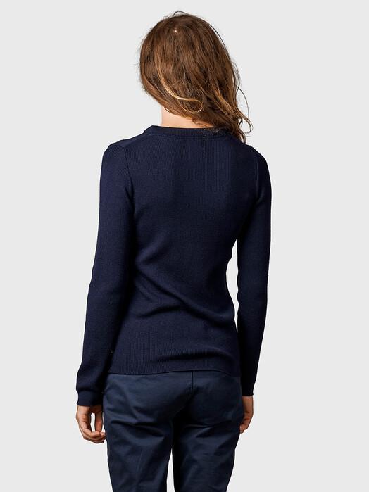 Klitmøller Collective Strickpullover & Cardigans Ingrid [navy] jetzt im Onlineshop von zündstoff bestellen