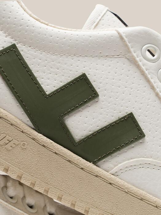 Flamingo's Life Schuhe Roland V.3 [white/olive/ivory] jetzt im Onlineshop von zündstoff bestellen
