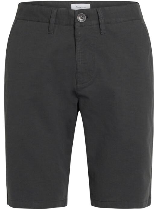 Knowledge Cotton Apparel  Shorts Chuck Checked Shorts [total eclipse] jetzt im Onlineshop von zündstoff bestellen