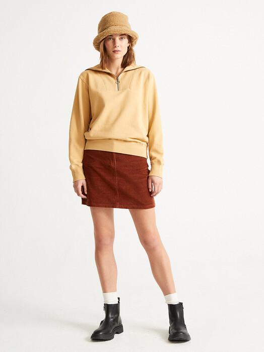 Thinking MU Röcke Corduroy Marsha Skirt [clay red] jetzt im Onlineshop von zündstoff bestellen