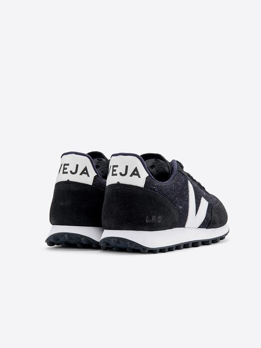 Veja Schuhe Rio Branco Flannel [dark white black] jetzt im Onlineshop von zündstoff bestellen