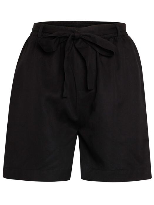 Knowledge Cotton Apparel  Shorts Tulip Paper Bag Shorts [black jet] XL jetzt im Onlineshop von zündstoff bestellen
