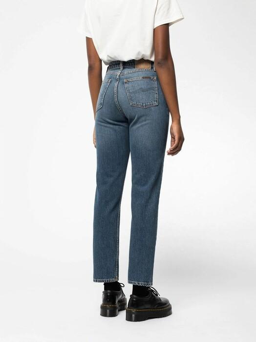 nudie Jeans Jeans Straight Sally [indigo autumn] jetzt im Onlineshop von zündstoff bestellen