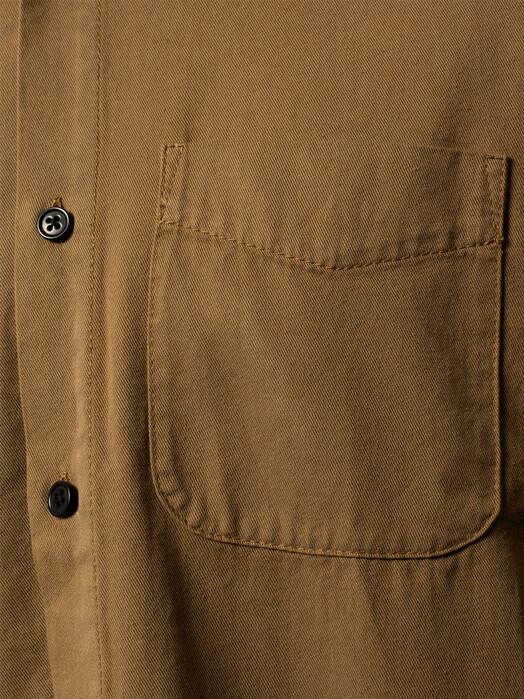 nudie Jeans Hemden & Polos Chet Pigment Dye [hazel] jetzt im Onlineshop von zündstoff bestellen