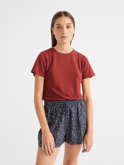 Thinking MU Shorts Multiflowers Geranio Shorts [blue] jetzt im Onlineshop von zündstoff bestellen