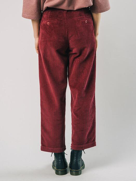 Brava Fabrics Hosen Corduroy Pleated Pant [porto wine] jetzt im Onlineshop von zündstoff bestellen