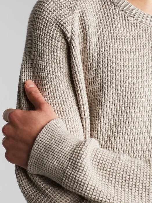 Dedicated Strickpullover Karlskrona Transfer Knit [light grey] jetzt im Onlineshop von zündstoff bestellen