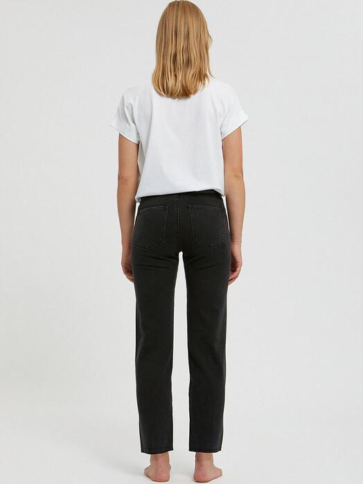 ARMEDANGELS Jeans Fjellaa Cropped [black/grey] jetzt im Onlineshop von zündstoff bestellen