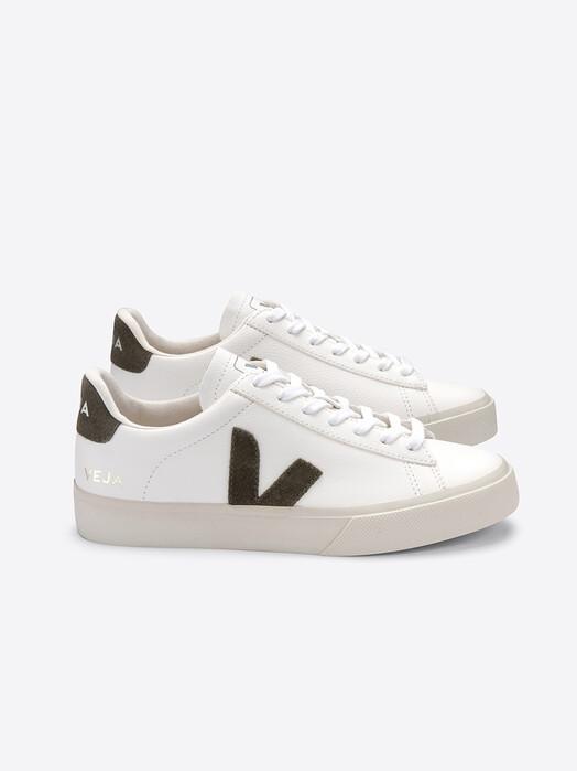 Veja Schuhe Campo CF [extra-white kaki] jetzt im Onlineshop von zündstoff bestellen