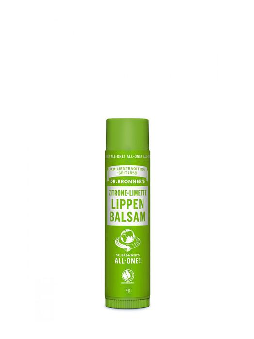 Dr. Bronner's Kosmetik Lipbalm Zitrone-Limette jetzt im Onlineshop von zündstoff bestellen