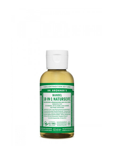 Dr. Bronner's Liquid Soap Mandel 60ml