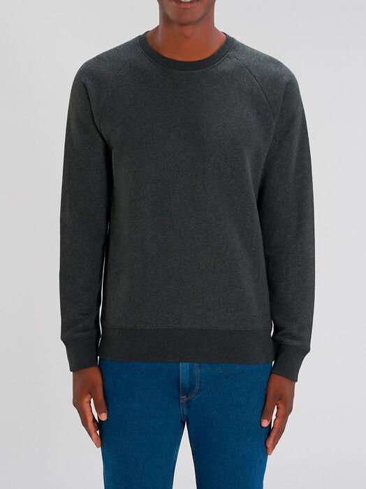 Sweatshirts - Silas [diverse Farben] - M, dark heather grey 2