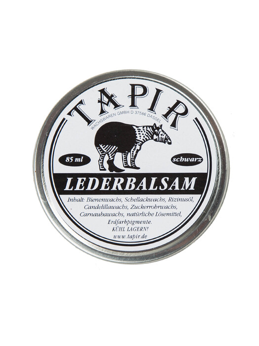 Tapir Schuhe Lederbalsam 85 mL [schwarz] One Size jetzt im Onlineshop von zündstoff bestellen