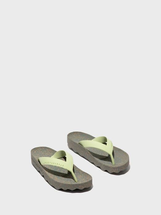 Asportuguesas Feel Flip Flops [grey/mint]