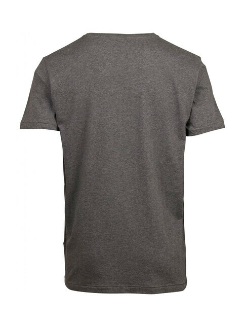 Knowledge Cotton Apparel  Basic Fit O-Neck [dark grey]
