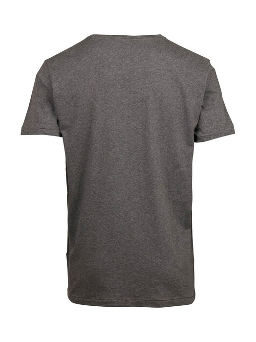 T-Shirts - Basic Fit O-Neck [dark grey] 2