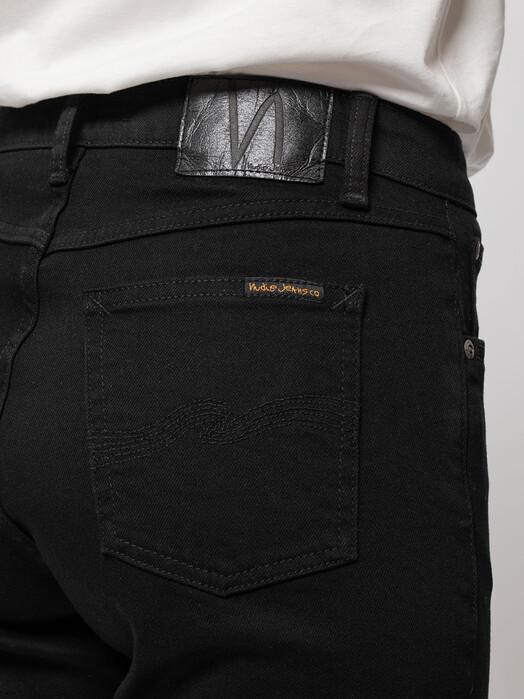 nudie Jeans Jeans Straight Sally [dry ever black] jetzt im Onlineshop von zündstoff bestellen
