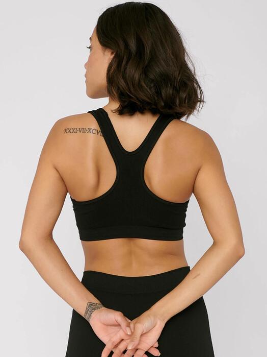 Organic Basics Unterwäsche  SilverTech Active Workout Bra [black] jetzt im Onlineshop von zündstoff bestellen
