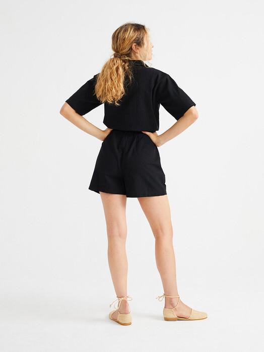 Thinking MU Jumpsuits Jade Jumpsuit [black] jetzt im Onlineshop von zündstoff bestellen