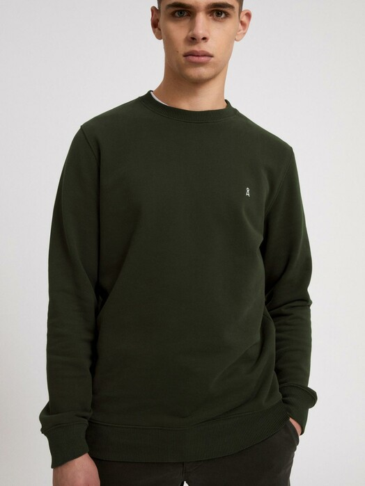 ARMEDANGELS Sweatshirts Maalte Comfort [dark pine] jetzt im Onlineshop von zündstoff bestellen