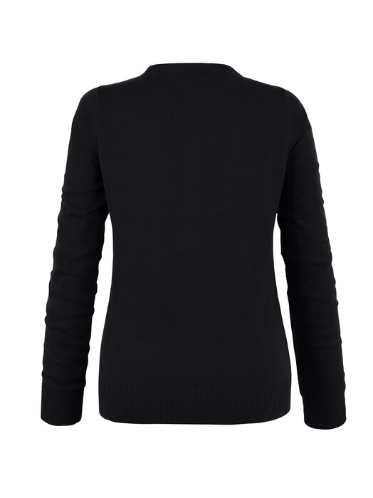 Mela Wear Strickpullover & Cardigans Cardigan [black] jetzt im Onlineshop von zündstoff bestellen