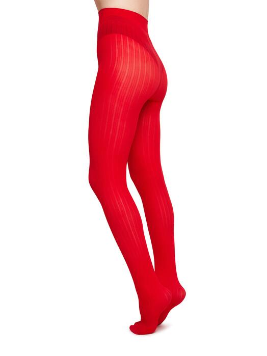 Swedish Stockings Leggings & Strumpfhosen Alma Rib [red] S jetzt im Onlineshop von zündstoff bestellen