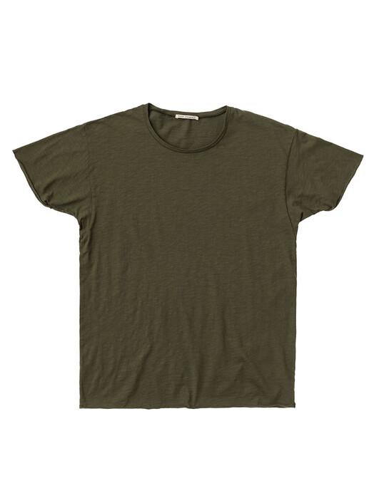 nudie Jeans T-Shirts Roger Slub [olive] jetzt im Onlineshop von zündstoff bestellen