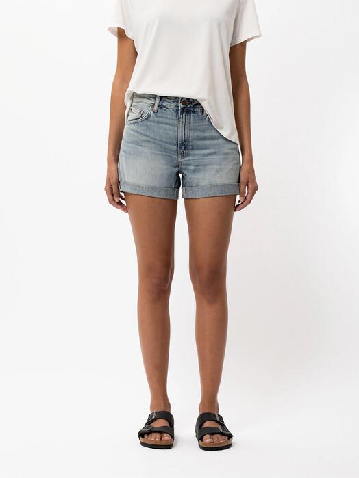 nudie Jeans Shorts Frida Shorts [faded sun] jetzt im Onlineshop von zündstoff bestellen