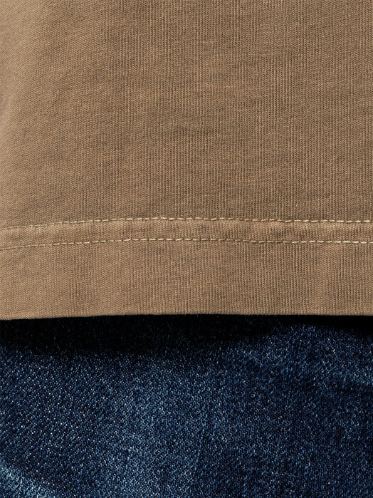 nudie Jeans T-Shirts Uno NJCO Circle [hazel] jetzt im Onlineshop von zündstoff bestellen