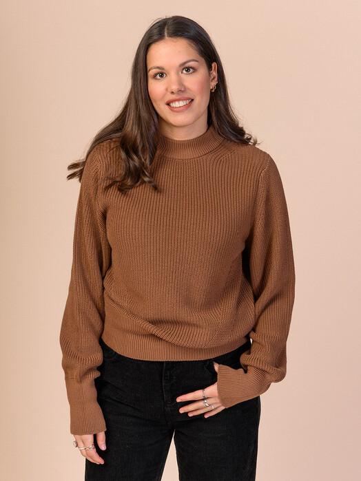 melawear Strickpullover & Cardigans Riya [camel] XL jetzt im Onlineshop von zündstoff bestellen