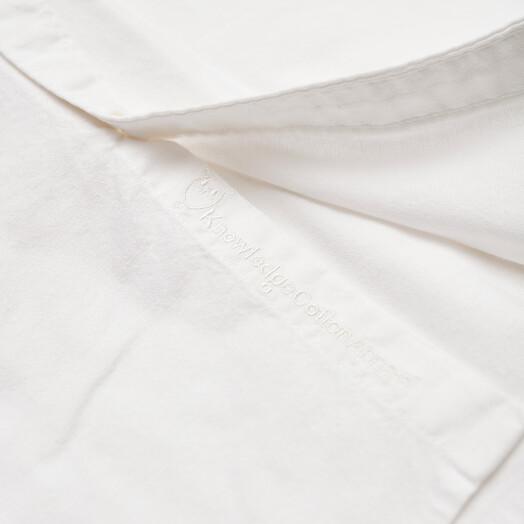 Knowledge Cotton Apparel  Hemden & Polos Stretched Oxford Shirt [bright white] jetzt im Onlineshop von zündstoff bestellen