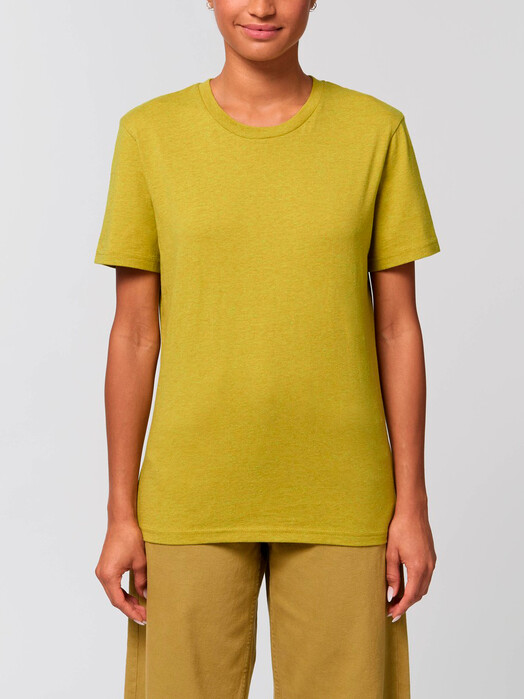 T-Shirts - Claas [diverse Farben] - S, heather neppy lemon grass 4