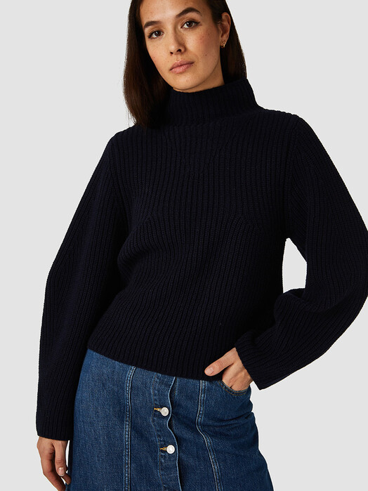 K.O.I. Jeans Strickpullover & Cardigans Hisa [navy] XS jetzt im Onlineshop von zündstoff bestellen