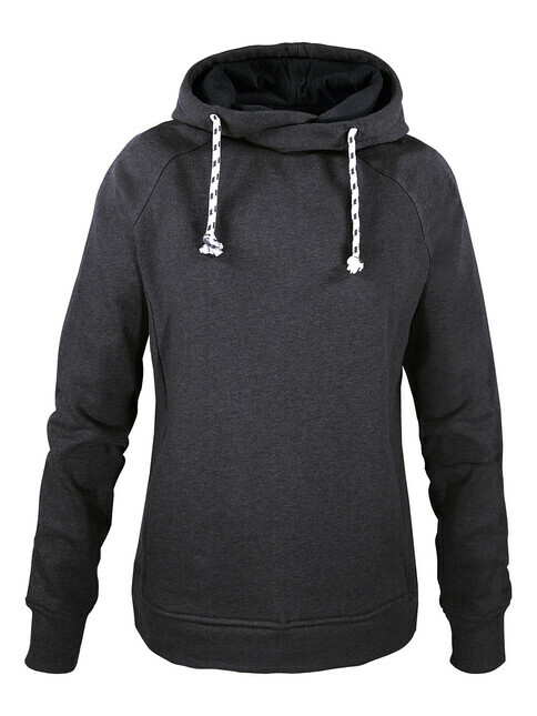 mela wear Women Hoody [anthracite melange]