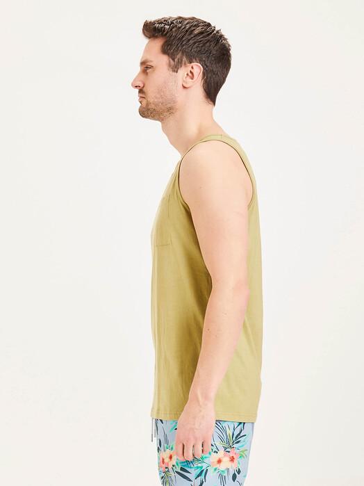 Knowledge Cotton Apparel  Tanktops Alder Palm Tank-Top [sage] jetzt im Onlineshop von zündstoff bestellen