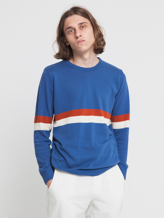 Strickpullover - Blue Knitted RCPB Sweater [blue marino] 2