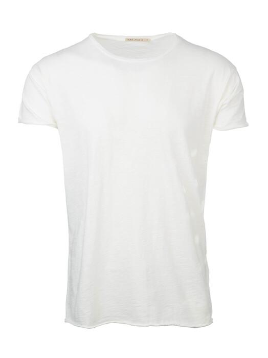 nudie Jeans T-Shirts Roger Slub [off white] jetzt im Onlineshop von zündstoff bestellen