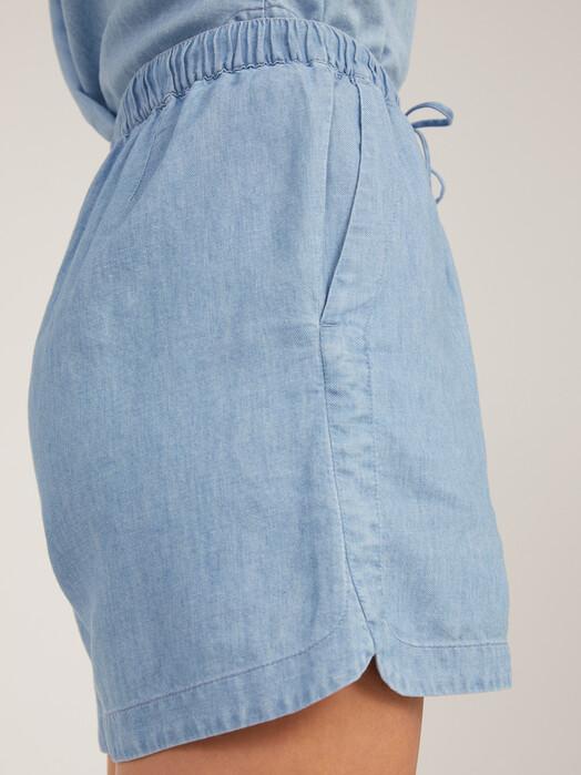 ARMEDANGELS Shorts Xuliaa [foggy blue] XS jetzt im Onlineshop von zündstoff bestellen