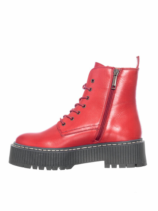 Ten Points Schuhe  Alina Laced [ruby red] jetzt im Onlineshop von zündstoff bestellen