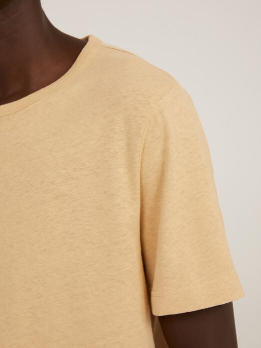ARMEDANGELS T-Shirts Aantonio Linen [dark sand] jetzt im Onlineshop von zündstoff bestellen