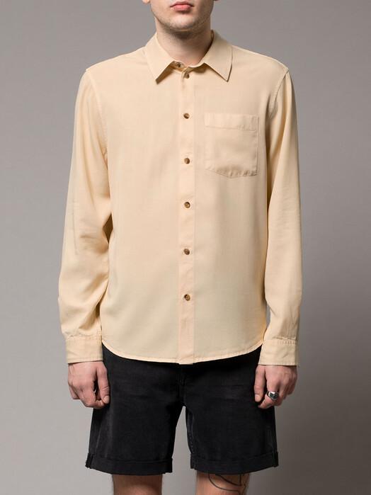 nudie Jeans Hemden & Polos Chuck Smooth Twill [sand] jetzt im Onlineshop von zündstoff bestellen