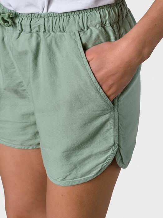 Klitmøller Collective Shorts Linda [pale green] jetzt im Onlineshop von zündstoff bestellen