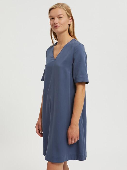 ARMEDANGELS Kleider Aamaya [foggy blue] jetzt im Onlineshop von zündstoff bestellen