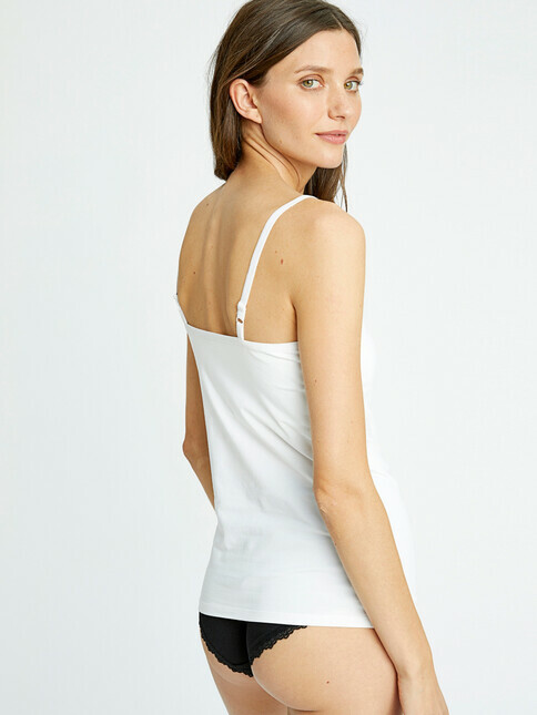 People Tree  Hidden Support Camisole [eco white]