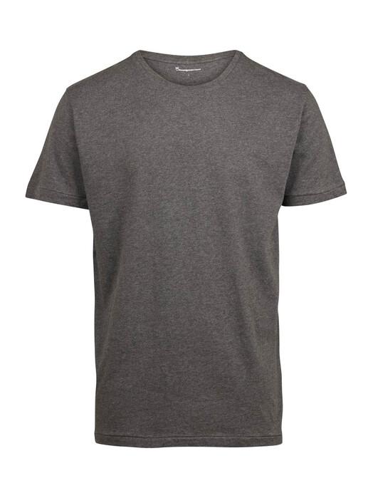 T-Shirts - Basic Fit O-Neck [dark grey] 1