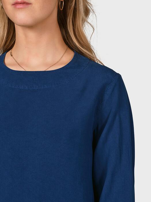 Klitmøller Collective Blusen Sandra [ocean] S jetzt im Onlineshop von zündstoff bestellen
